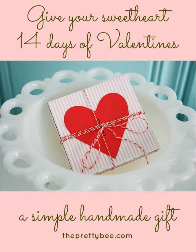 give your sweetheart 14 days of valentines this year!