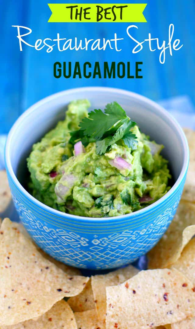 The best guacamole recipe - everyone loves this, better make a double batch!