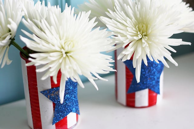 independence day vase