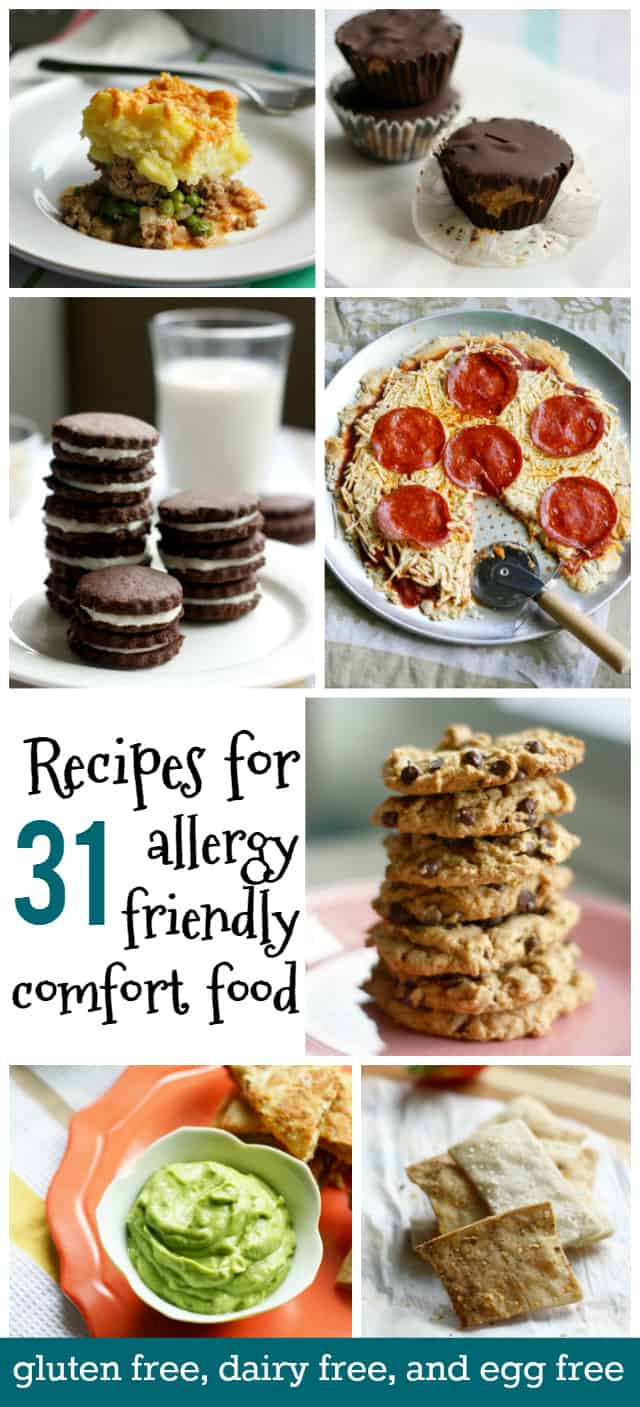 gluten free dairy free and egg free comfort food
