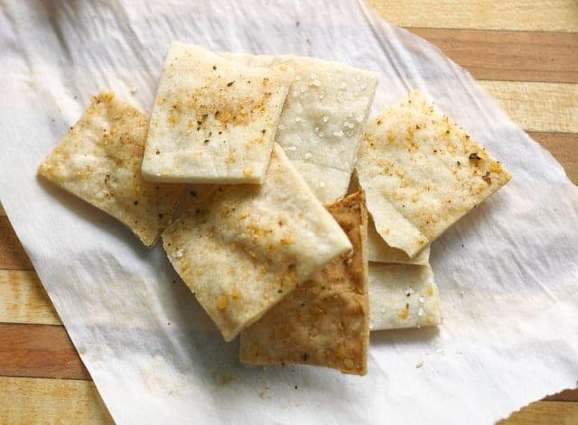 Simple gluten free cracker recipe