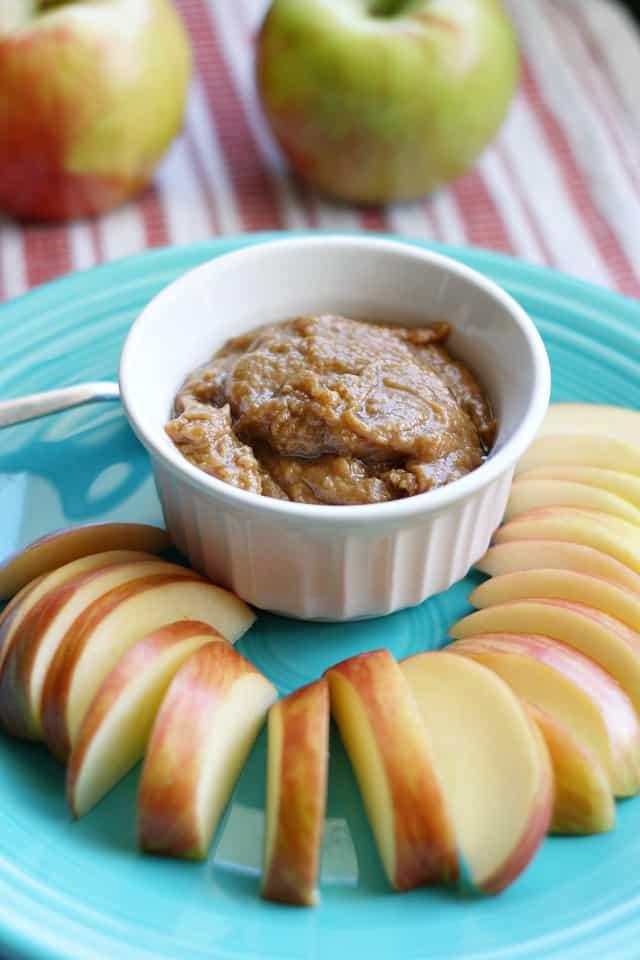 vegan peanut butter apple dip recipe