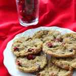 Gluten Free Cranberry Coconut Chocolate Chip Cookies.