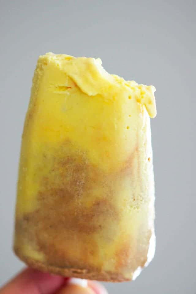 A tasty frozen treat, these orangette fudgsicles are a sweet way to keep cool!