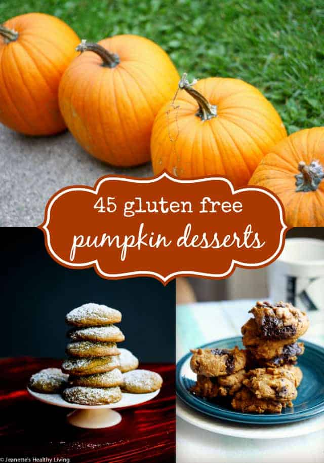 45 gluten free pumpkin dessert recipes - get ready for fall with this tasty collection!
