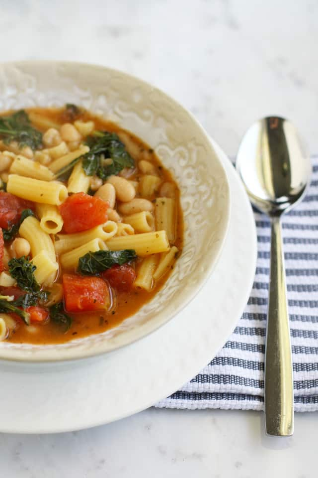 Pasta e fagioli soup recipe