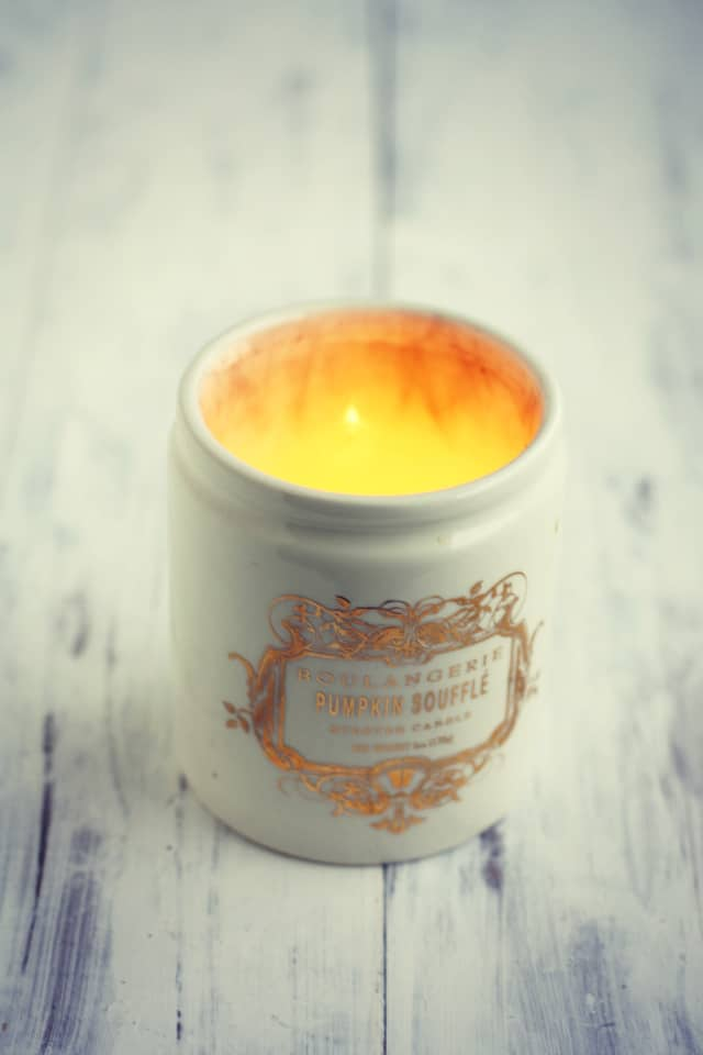 The Pretty Bee's Fall Favorites: Anthropologie Pumpkin Candle