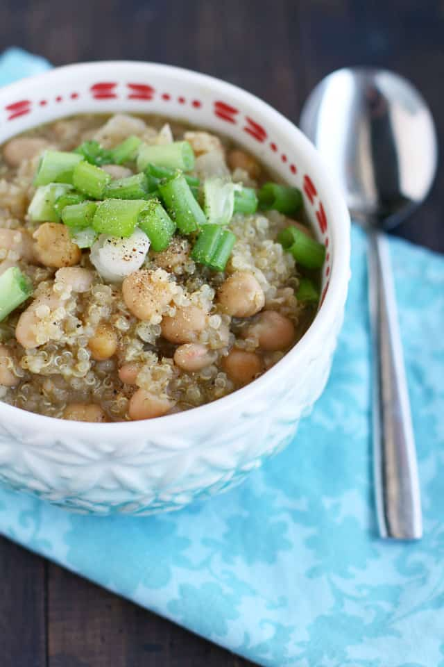 vegan white bean chili recipe