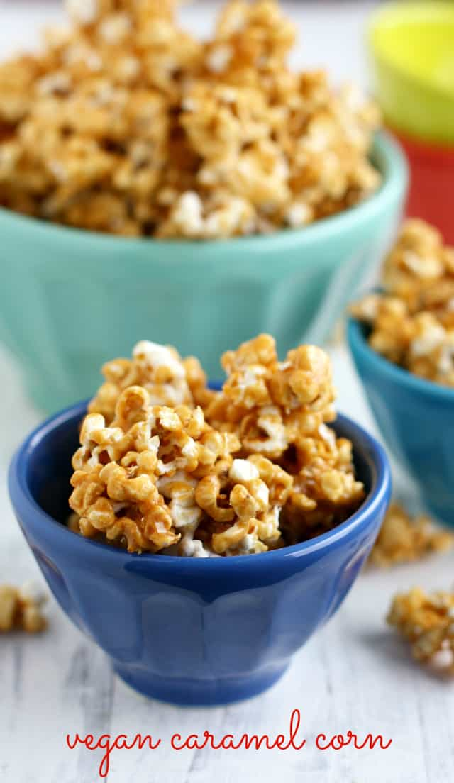 This highly addictive caramel corn is sweet, salty, and dairy and gluten free!