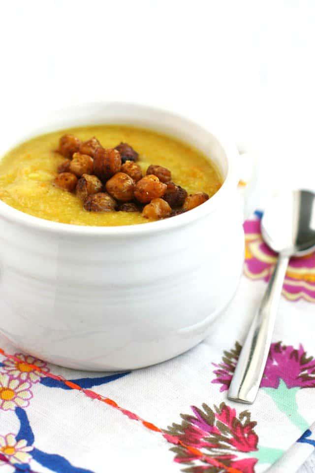 creamy cauliflower carrot soup