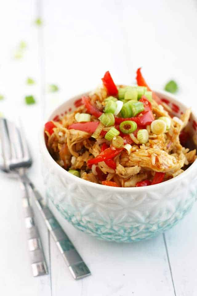 Make this delicous teriyaki chicken rice at home! Even better than takeout!