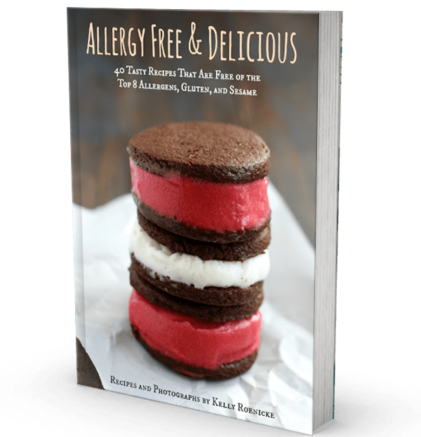 Allergy Free and Delicious - a collection of allergen free recipes by Kelly Roenicke.