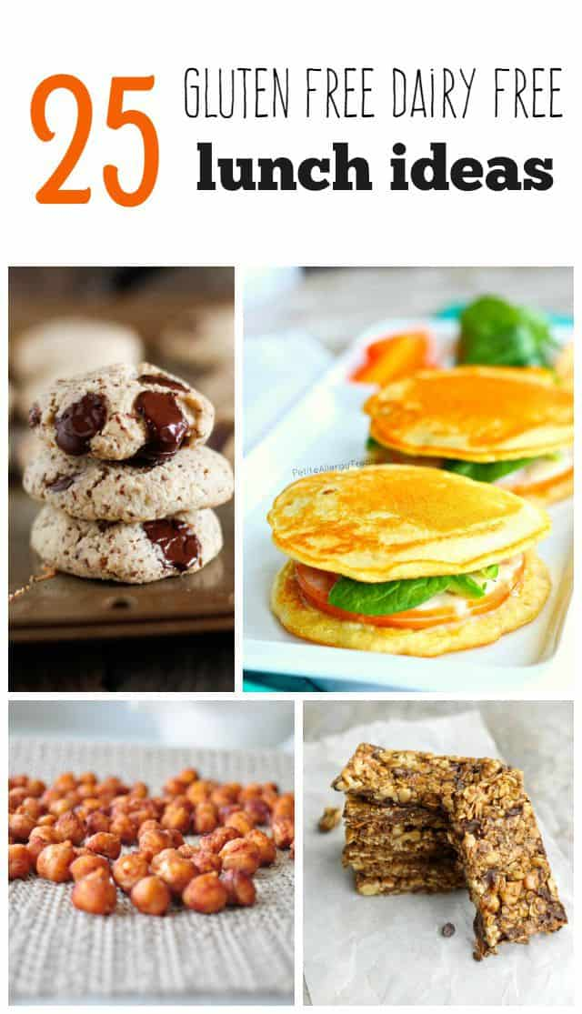 Allergy friendly recipe search the pretty bee 25 gluten free dairy free lunch recipes forumfinder Images
