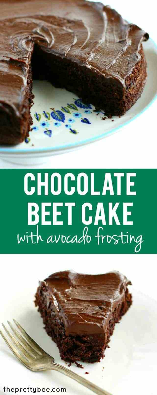 Chocolate Beet Cake with Chocolate Avocado Frosting. - The ...