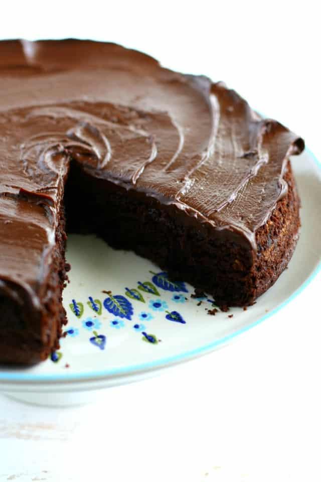 Simple Chocolate Beet Cake
