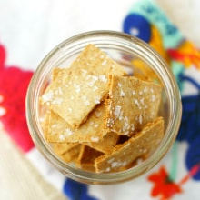 easy gluten free crackers