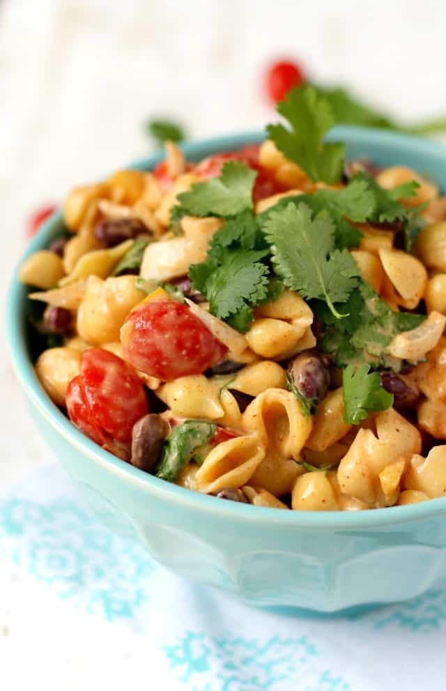 My family LOVES this Southwest pasta salad - an easy recipe for warm weather!