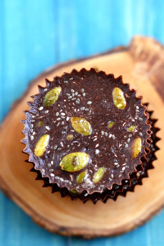Healthy chocolate that's loaded with superfoods? Yes, please!!