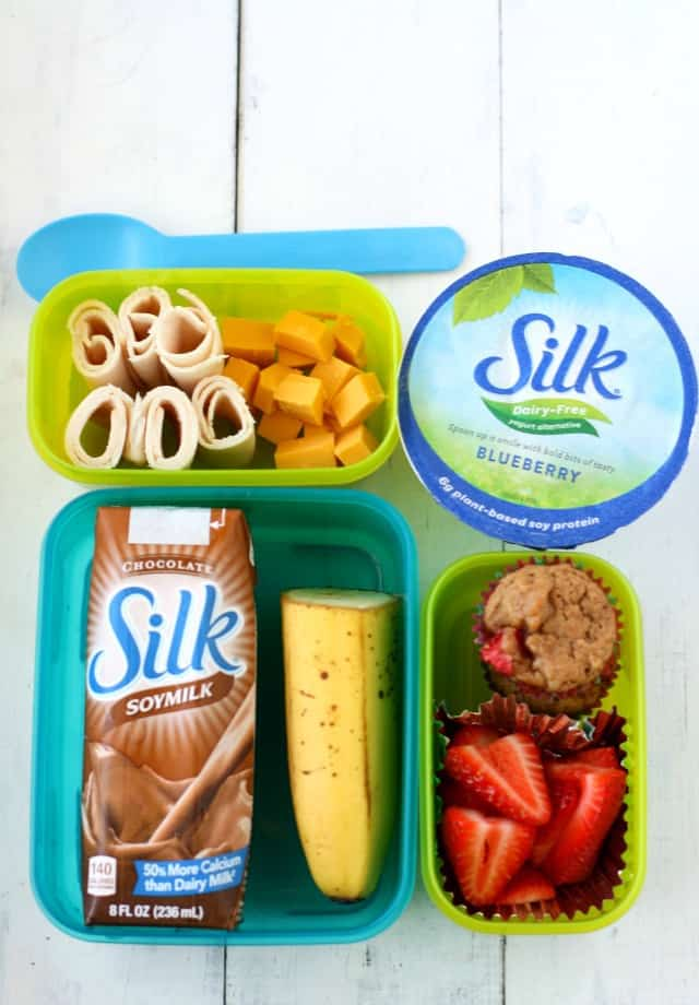 An easy dairy free lunch to pack for back to school season! #ad #BackToSchool #NaturalFoods