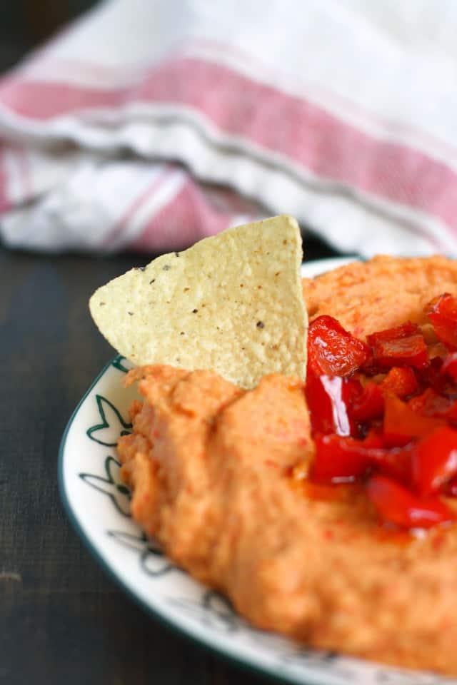 red pepper white bean dip recipe