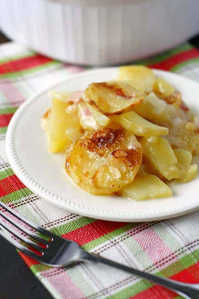 Gluten Free Scalloped Potatoes (Dairy Free). - The Pretty Bee