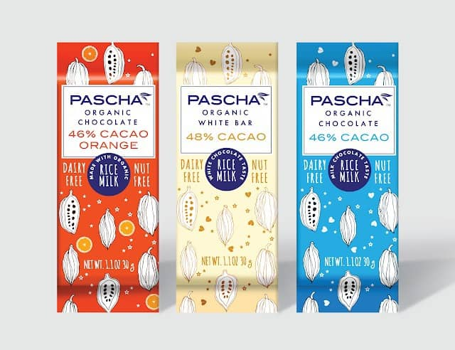pascha chocolate rice milk bars