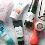 beauty, skincare, clarisonic, neutrogena, the body shop