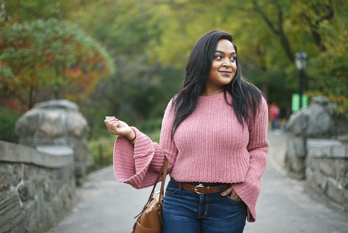bell sleeves, central park, nyc blog, nyc blogger, chenille, sweater, sweater weather, fall style, fall fashion, affordable style