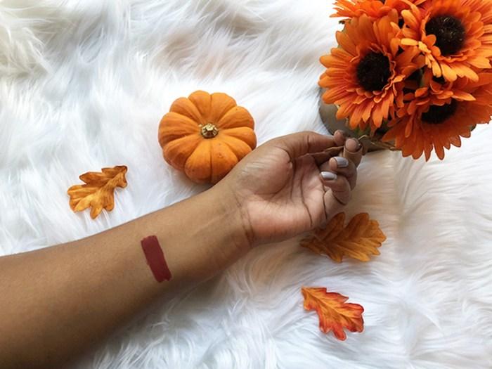 fall lipstick, fall makeup, fall, beauty, cosmetics, colourpop, review