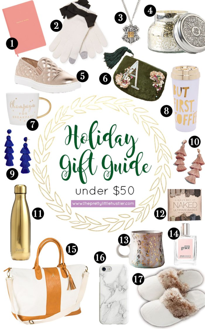 holiday gift ideas, gifts under $50, #giftsunder50, christmas gift ideas, gifts for her, affordable gifts, affordable gift ideas