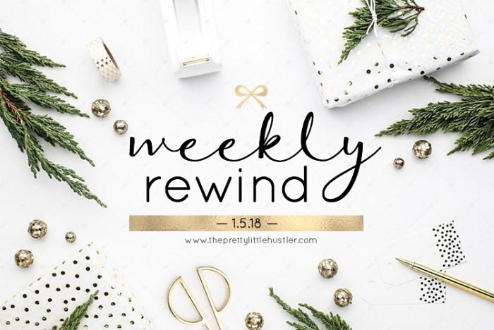 Weekly recap, weekend sales, new years eve 2018, nyc blog