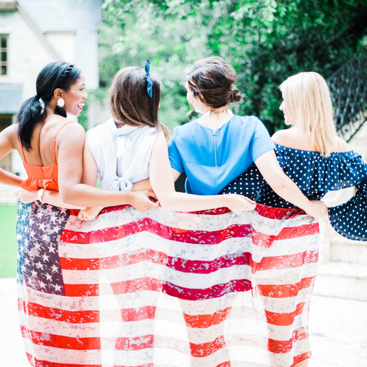 Red, White and Blue: Fourth of July Outfit Inspiration
