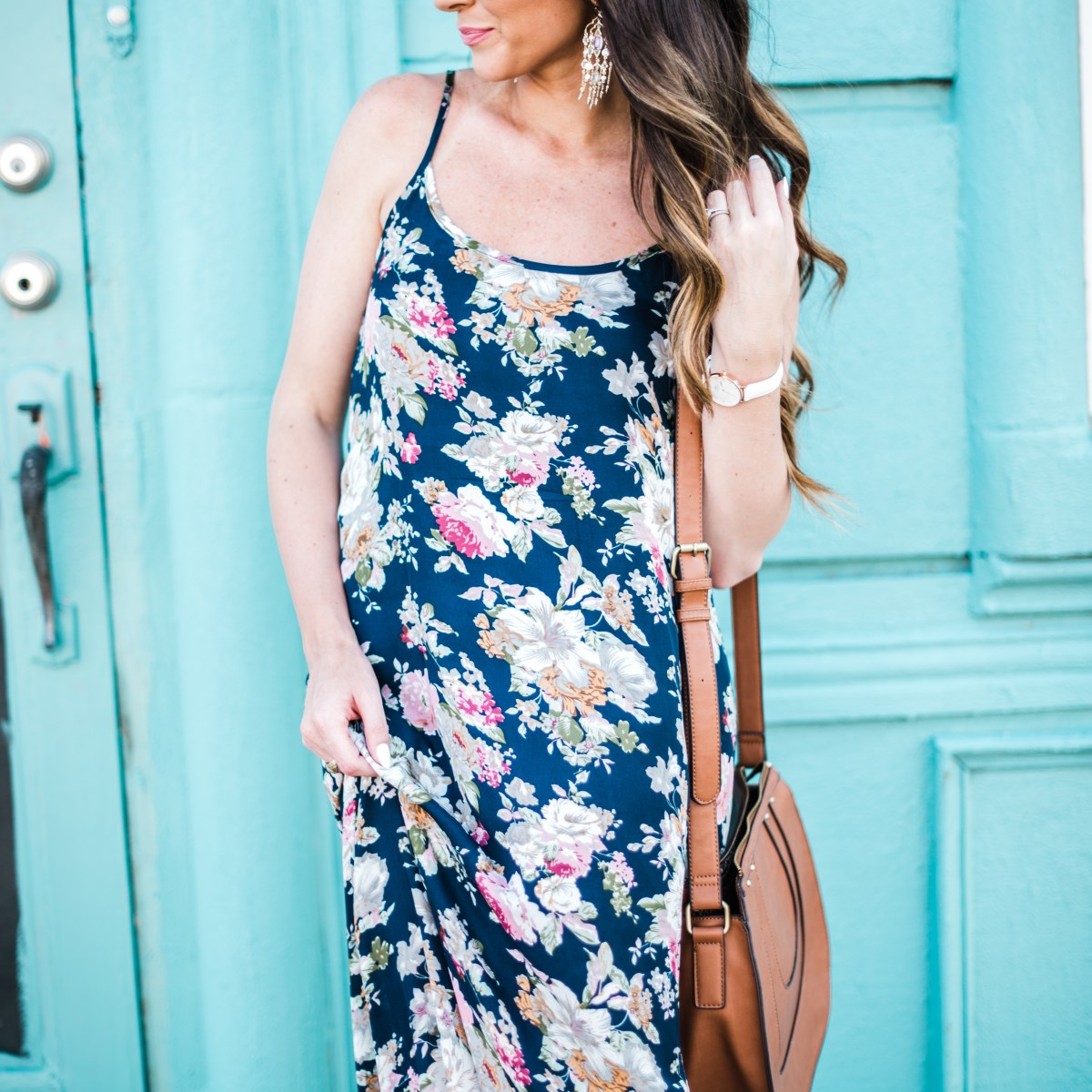 Budget Style: Floral Maxi Dress