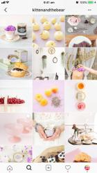 Instagram Aesthetic Food Background
