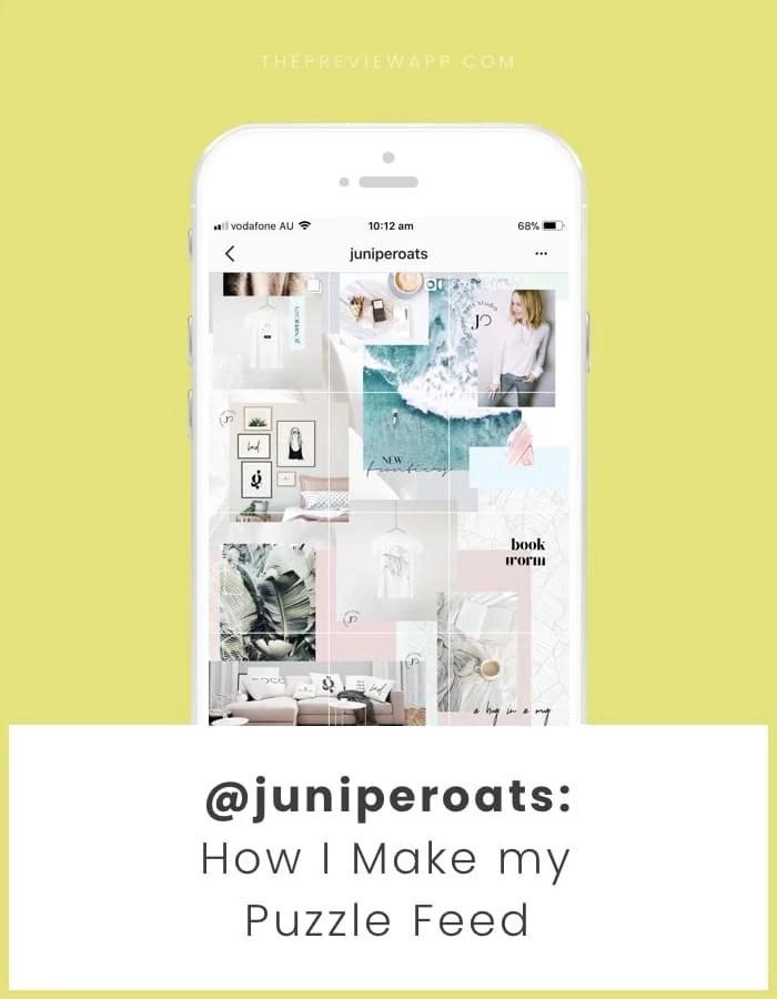 Ukuran Feed Instagram Di Photoshop : ukuran, instagram, photoshop, Steps, Beautiful, Puzzle, Instagram, TEMPLATE)