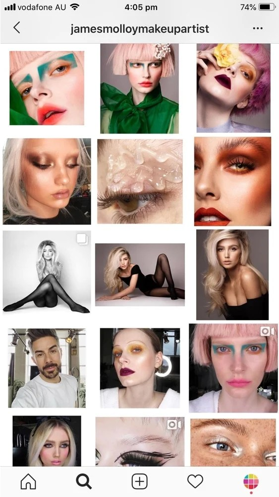 Instagram Feed Ideas For Makeup Artists