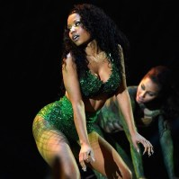 Nicki Minaj costume as she performs Anaconda