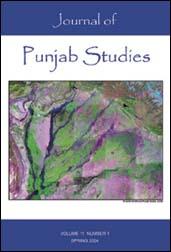 Journal of Punjab Studies