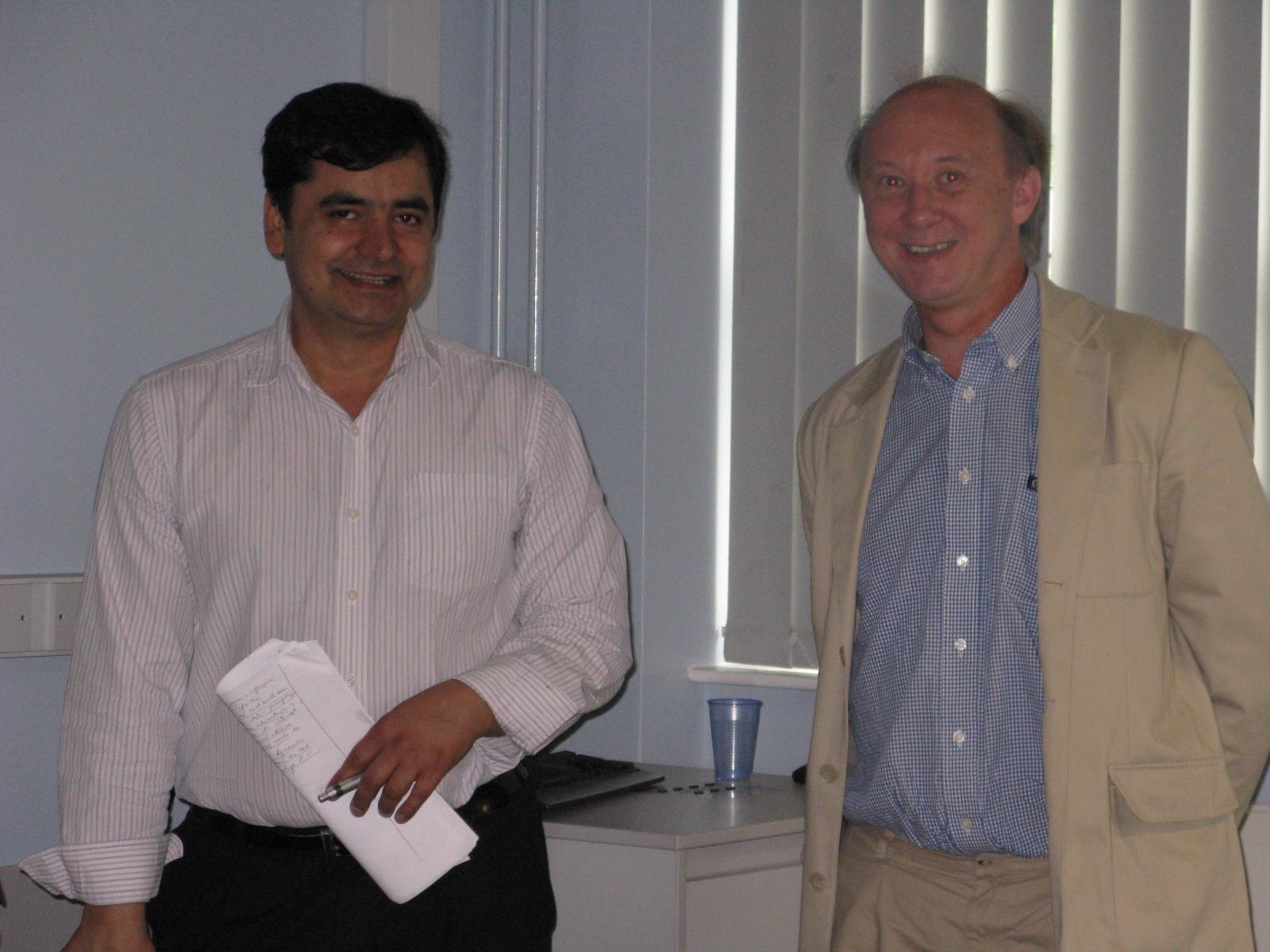 Tahir Mahmood and Ian Talbot