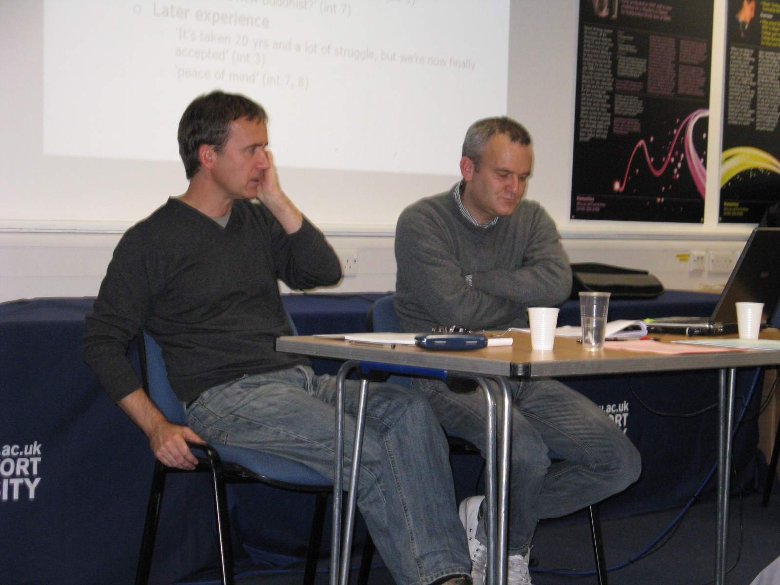 Dave Morland and Steve Taylor