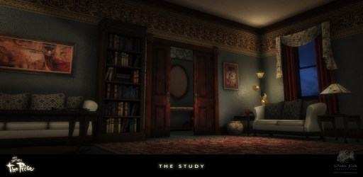 night study movie castle animated
