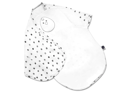 nested bean baby swaddle
