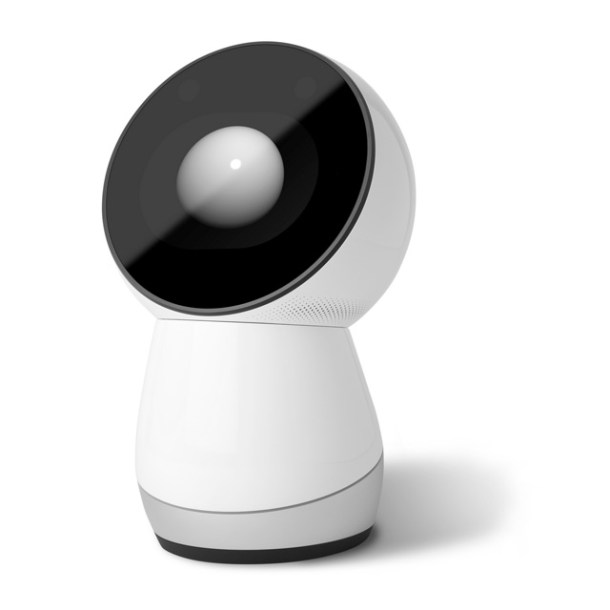 JIBO Worlds First Family Robot looking up