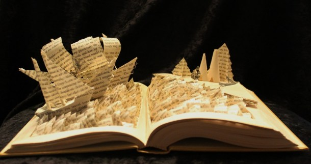 jodi harvey-brown book sculpture 15
