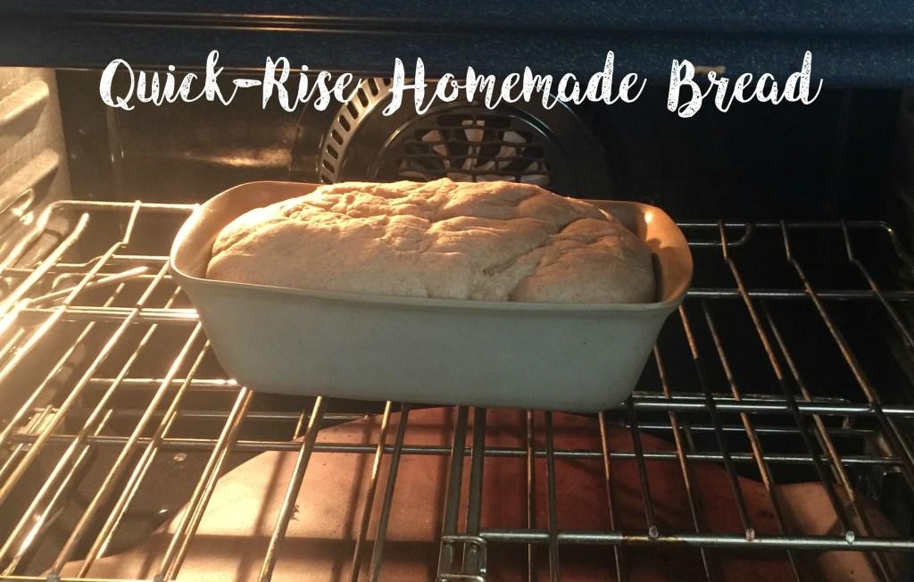 quick rise bread