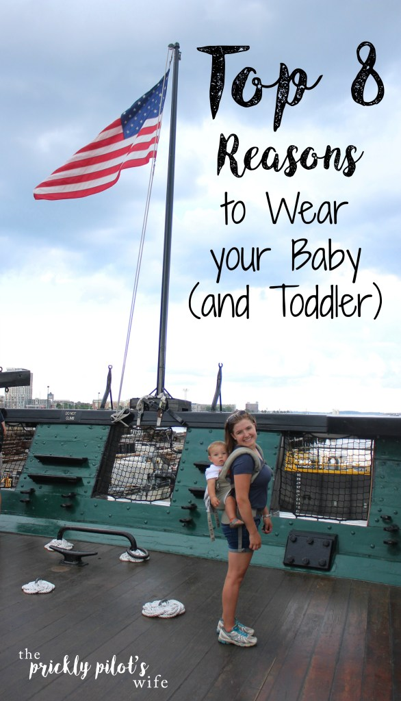 Top 8 Reasons to Wear your Baby (and Toddler)