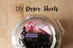 Make Your Own All-Natural Dryer Sheets