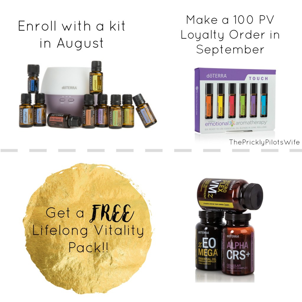 doterra august promotion
