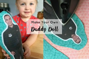 Make Your Own Military Daddy (or Mommy) Doll