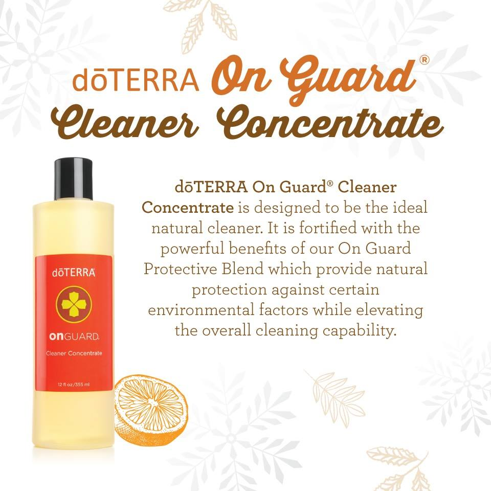 doterra onguard concentrate key benefits uses